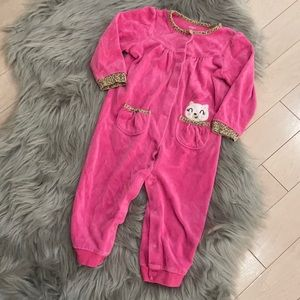 Carter's Baby Outfit Pink/Leopard 12-18